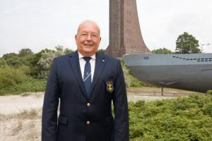 Heinz Maurus, Präsident des Deutschen Marinebundes e. V.